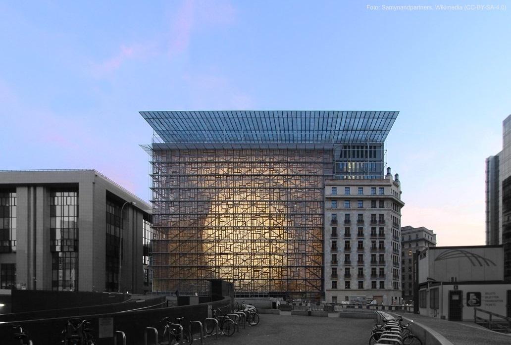 Europagebäude in Brüssel